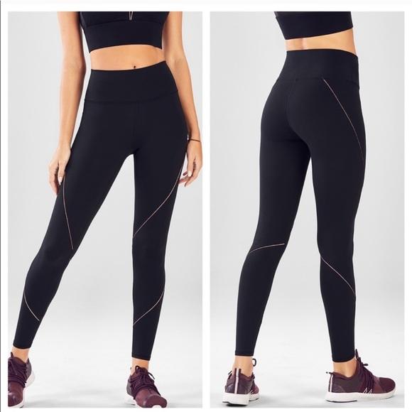 119ad82b9fa1d8 Fabletics Pants | High Waist Statement Powerhold Legging | Poshmark